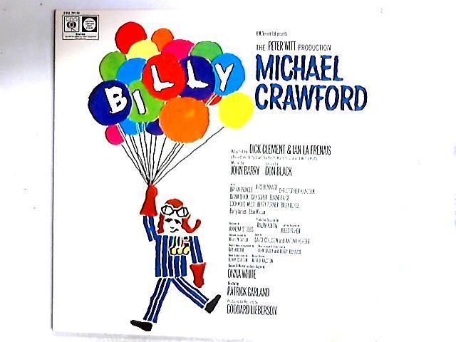 Billy — Original Cast Recording LP Gat by Michael Crawford