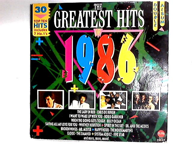 The Greatest Hits Of 1986 Comp by Various