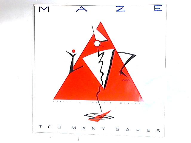 Too Many Games 12in by Maze Featuring Frankie Beverly