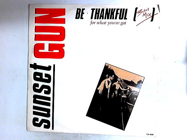 Be Thankful For What You've Got (3AM Mix) 12in By Sunset Gun