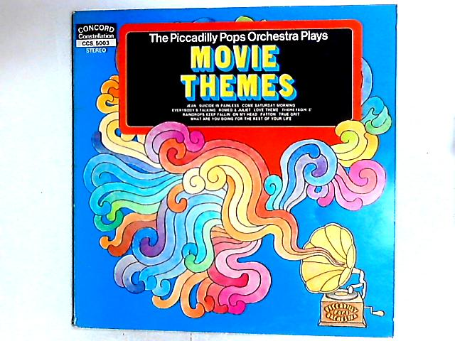 Movie Themes LP By Piccadilly Pops Orchestra
