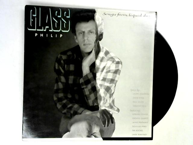Songs From Liquid Days LP 1st by Philip Glass
