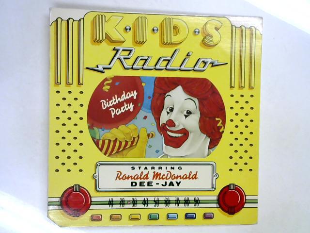K.I.D.S. Radio Birthday Party LP by McDonald's