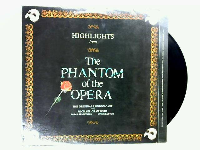 Highlights From The Phantom Of The Opera LP 1st by Original London Cast