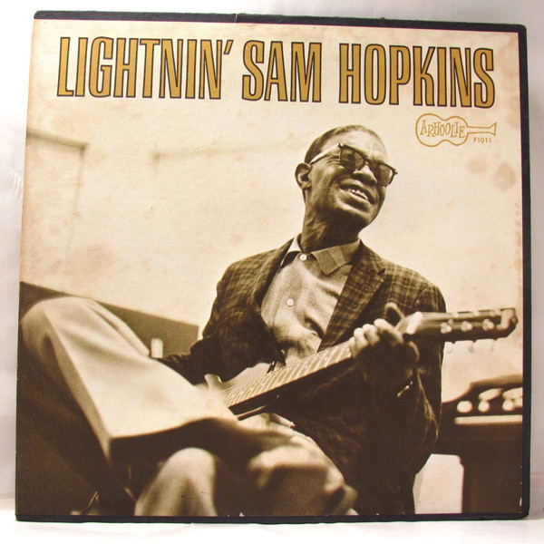 Lightnin' Sam Hopkins LP by Lightnin' Hopkins