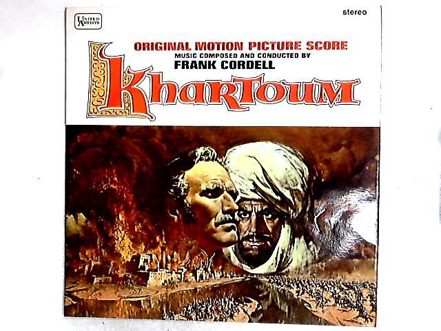 Khartoum (Original Motion Picture Score) LP by Frank Cordell