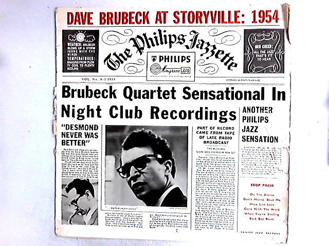 Dave Brubeck At Storyville: 1954 LP by The Dave Brubeck Quartet