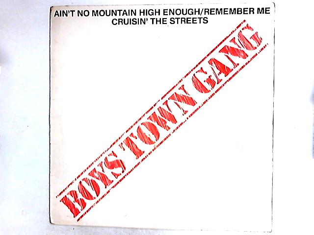 Ain't No Mountain High Enough / Remember Me / Cruisin' The Streets 12in By Boys Town Gang