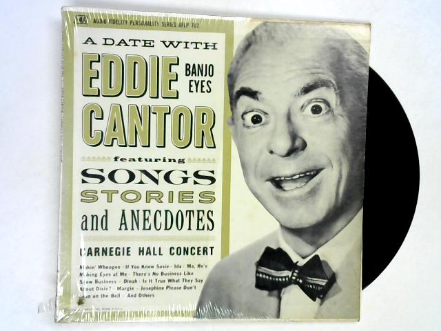 Carnegie Hall Concert LP by Eddie Cantor