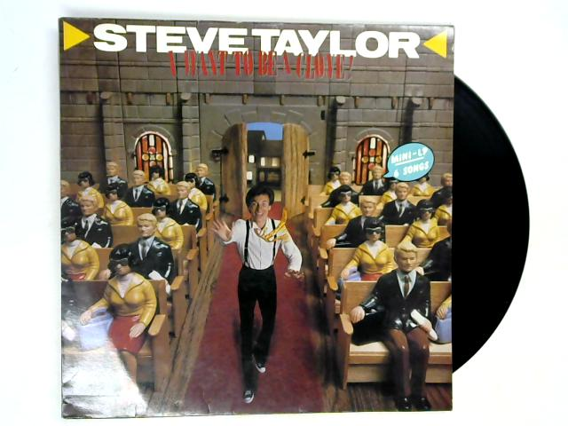 I Want To Be A Clone LP by Steve Taylor