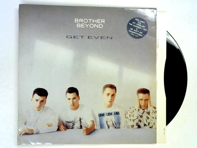Get Even LP 1st by Brother Beyond