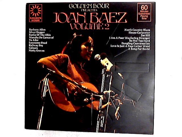Golden Hour Presents Joan Baez Volume 2 Comp by Joan Baez