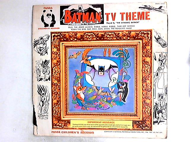 Batman And Robin LP by The Dynamic Batmen