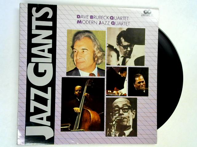 Jazz Giants 2xLP by Dave Brubeck Quartet / Modern Jazz Quartet