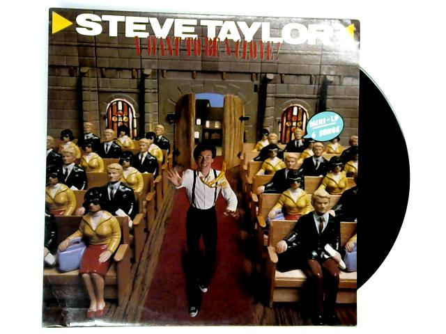 I Want To Be A Clone LP 1st by Steve Taylor