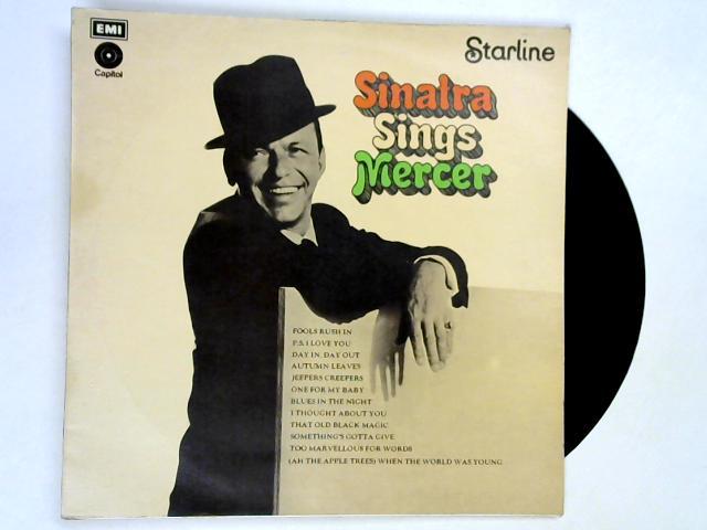 Sinatra Sings Mercer LP by Frank Sinatra