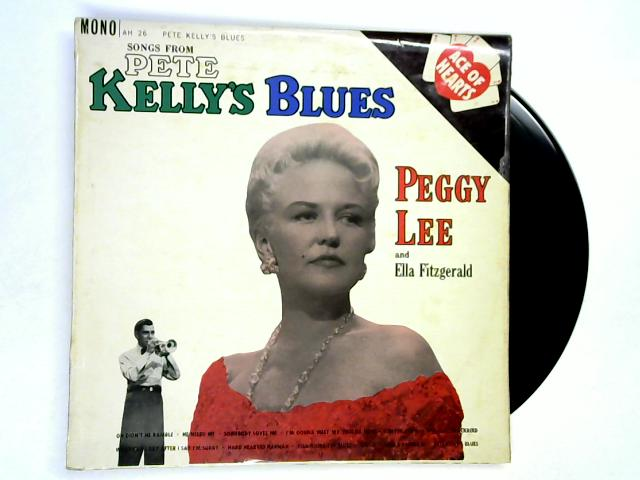 Songs From Pete Kelly's Blues LP 1st by Peggy Lee & Ella Fitzgerald