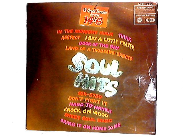Title Soul Hits LP Artist Unknown Book Binding N A Record Label Music For Pleasure Year Of Publication 1968 Condition GOOD