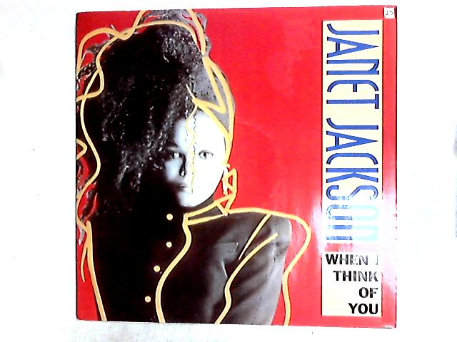 When I Think Of You 12in by Janet Jackson