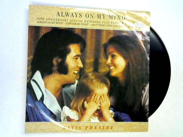 Always On My Mind 12in 1st by Elvis Presley