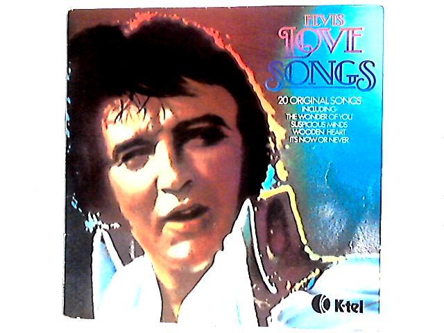 Elvis Love Songs (20 Original Songs) Comp by Elvis Presley