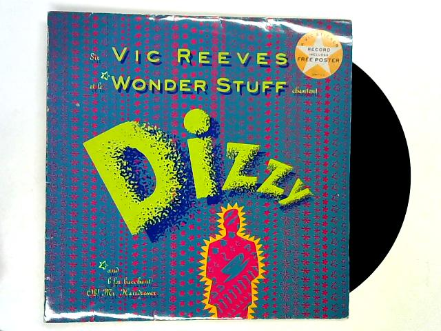 Dizzy 12in 1st + pstr by Vic Reeves