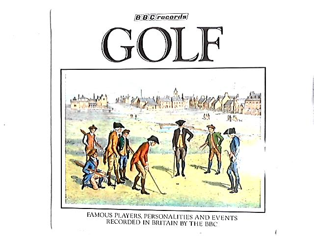 Golf Famous Players, Personalities And Events LP by Various
