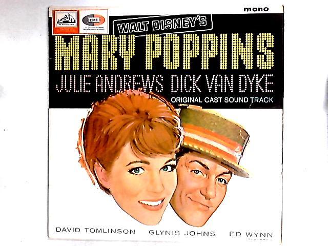 Walt Disney's Mary Poppins: Original Cast Sound Track LP by Various