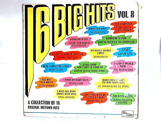 16 Big Hits Vol. 8 Comp By Various