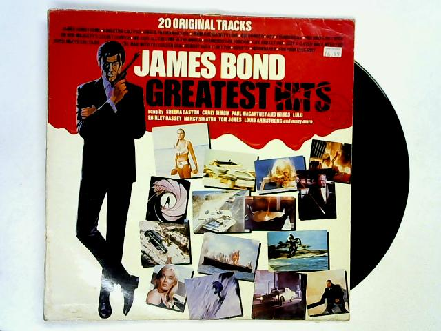 James Bond Greatest Hits LP by Various