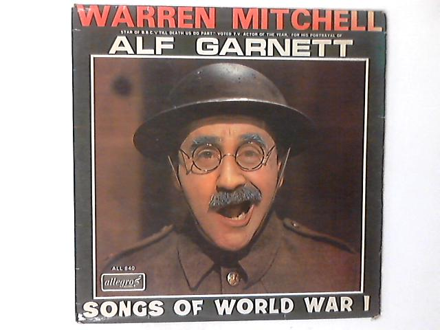 Songs Of World War 1 LP by Warren Mitchell