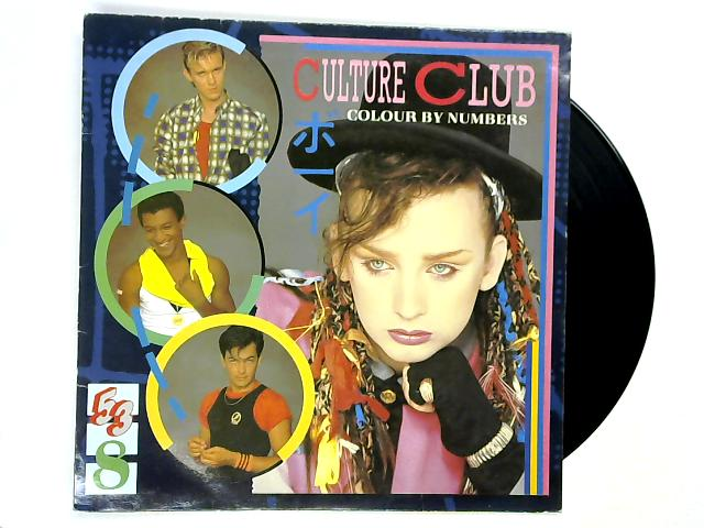 Colour By Numbers LP 1st by Culture Club