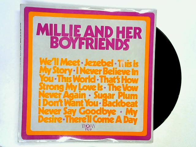 Millie And Her Boyfriends LP by Millie Small / Various