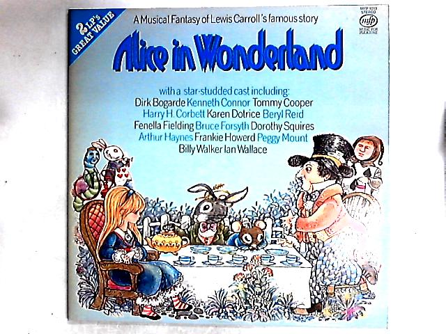 Alice In Wonderland 2LP by Lewis Carroll