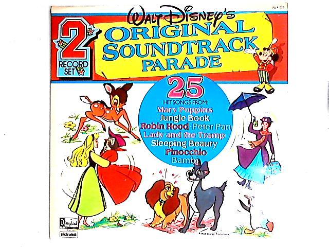 Walt Disney's Original Soundtrack Parade 2LP Comp by Various