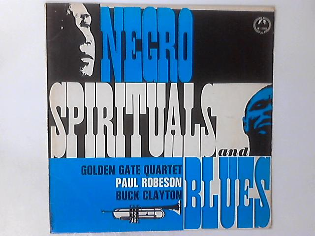 Negro Spirituals And Blues LP By The Golden Gate Quartet