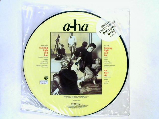 Hunting High And Low 12in pic disc by a-ha