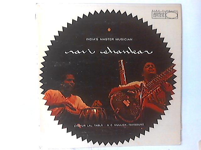 India's Master Musician LP by Ravi Shankar