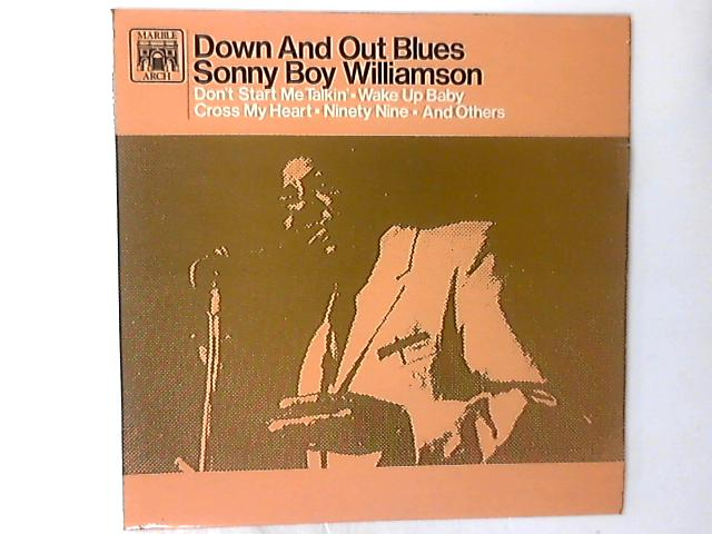 Down And Out Blues LP by Sonny Boy Williamson (2)