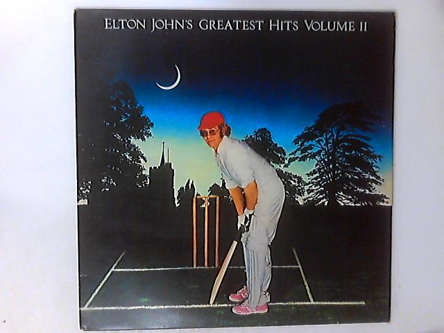 Elton John's Greatest Hits Volume II LP COMP by Elton John