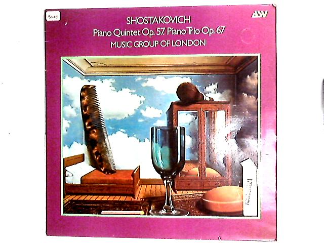 Piano Quintet Op. 57. Piano Trio Op. 67. LP by The Music Group Of London