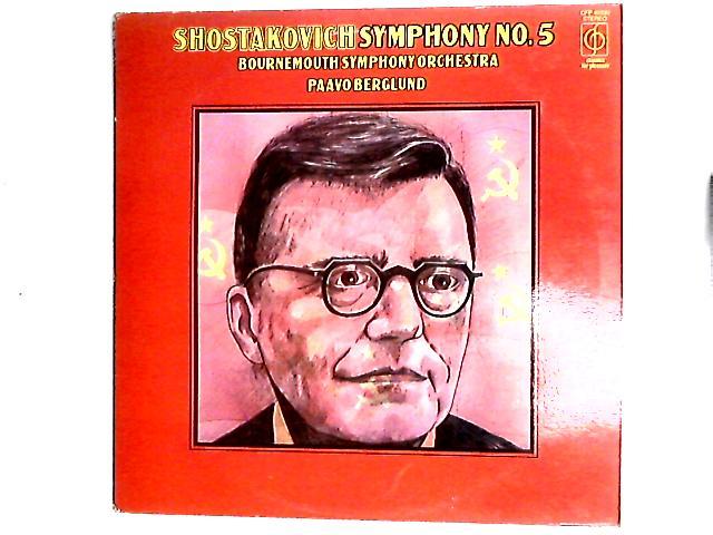 Symphony No. 5 LP By Dmitri Shostakovich
