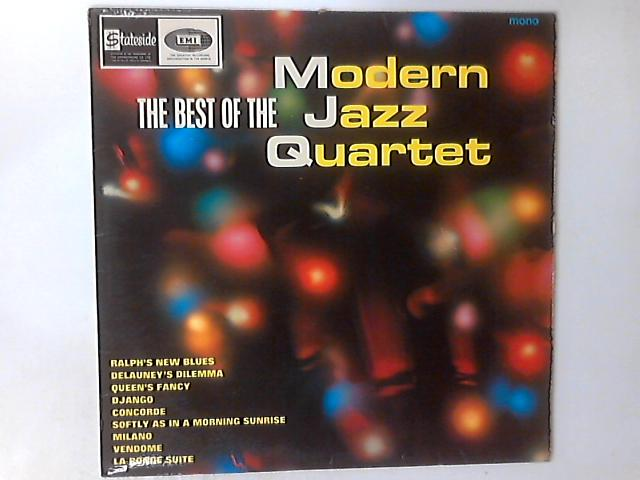 The Best Of The Modern Jazz Quartet LP by The Modern Jazz Quartet