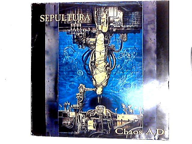 Chaos A.D. LP by Sepultura