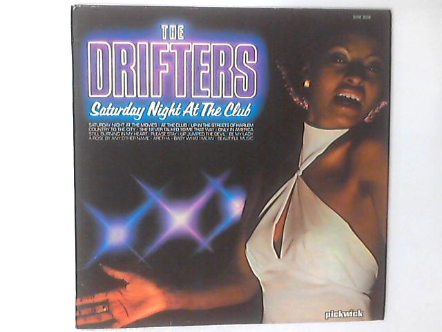 Saturday Night At The Club LP by The Drifters