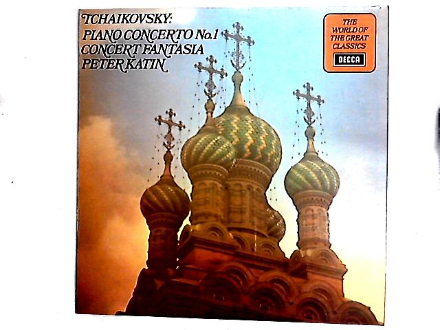 Piano Concerto No.1 / Concert Fantasia in G Minor LP by Pyotr Ilyich Tchaikovsky