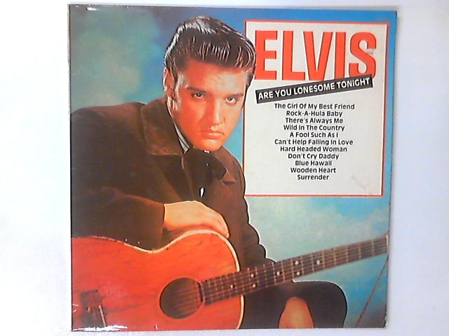 Are You Lonesome Tonight LP by Elvis Presley