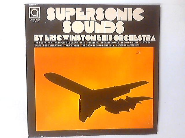 Supersonic Sounds LP by Eric Winstone & His Orchestra