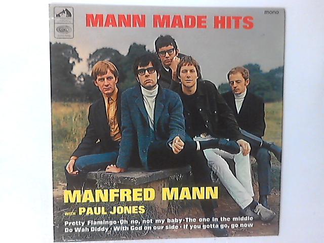 Mann Made Hits LP by Manfred Mann