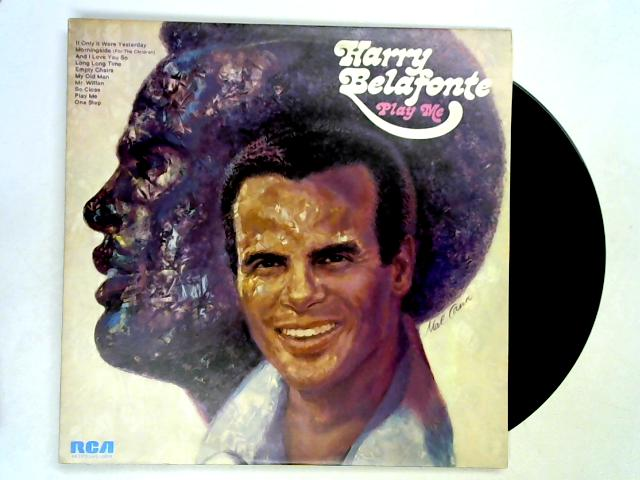 Play Me LP 1st By Harry Belafonte